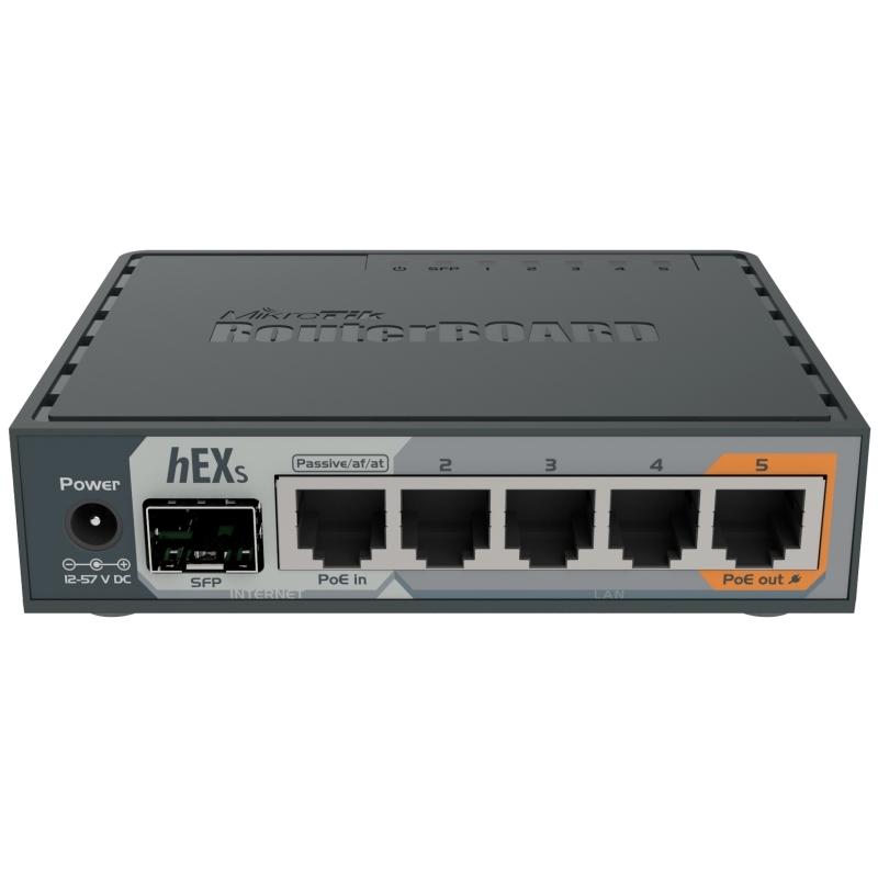 MikroTik RB760iGS hEX S Router 5xGB 1xSFP L4