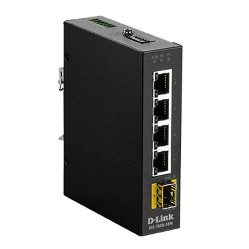 D-Link DIS-100G-5SW Switch Industrial 4xGB 1xSFP