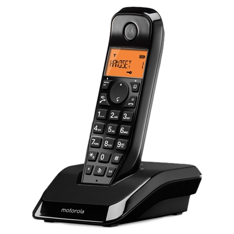 MOTOROLA S1201 Telefono DECT Negro