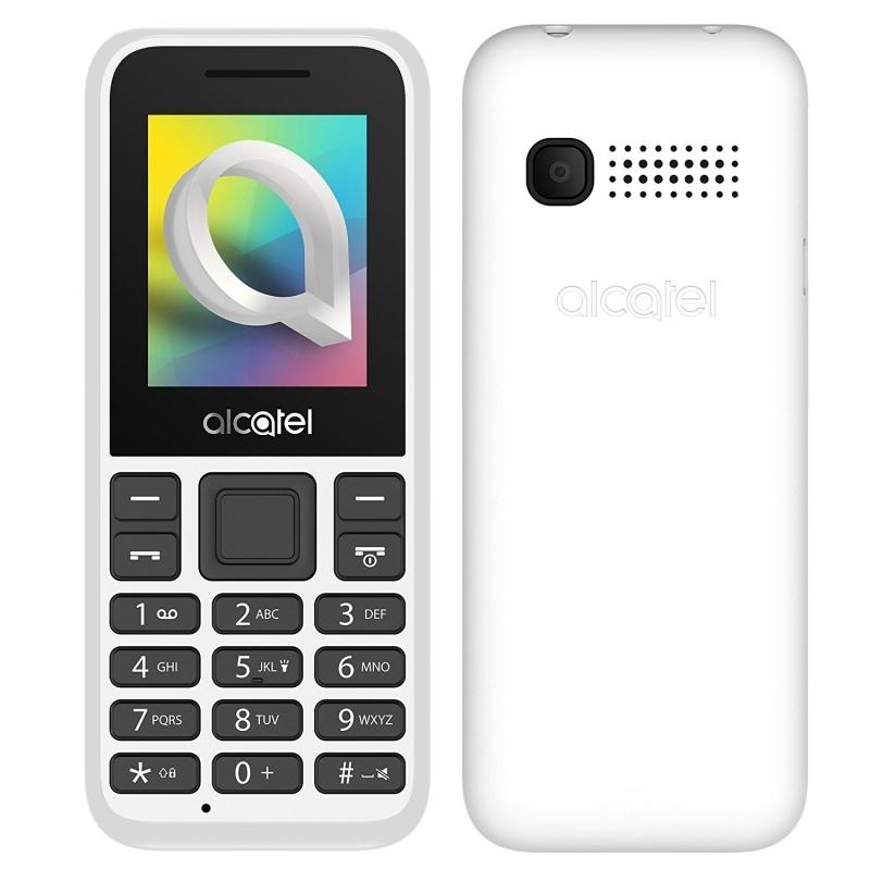 """Alcatel 1066D Telefono Movil 1.8"""" QQVGA BT Blanco"""