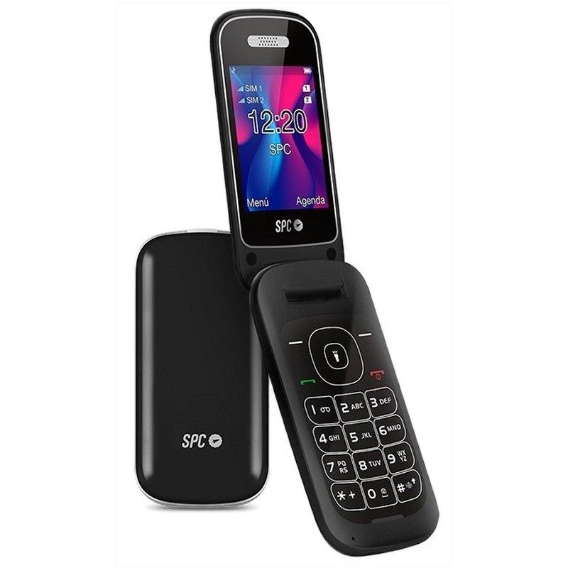 SPC 2319N Velvet Telefono Movil BT FM Negro