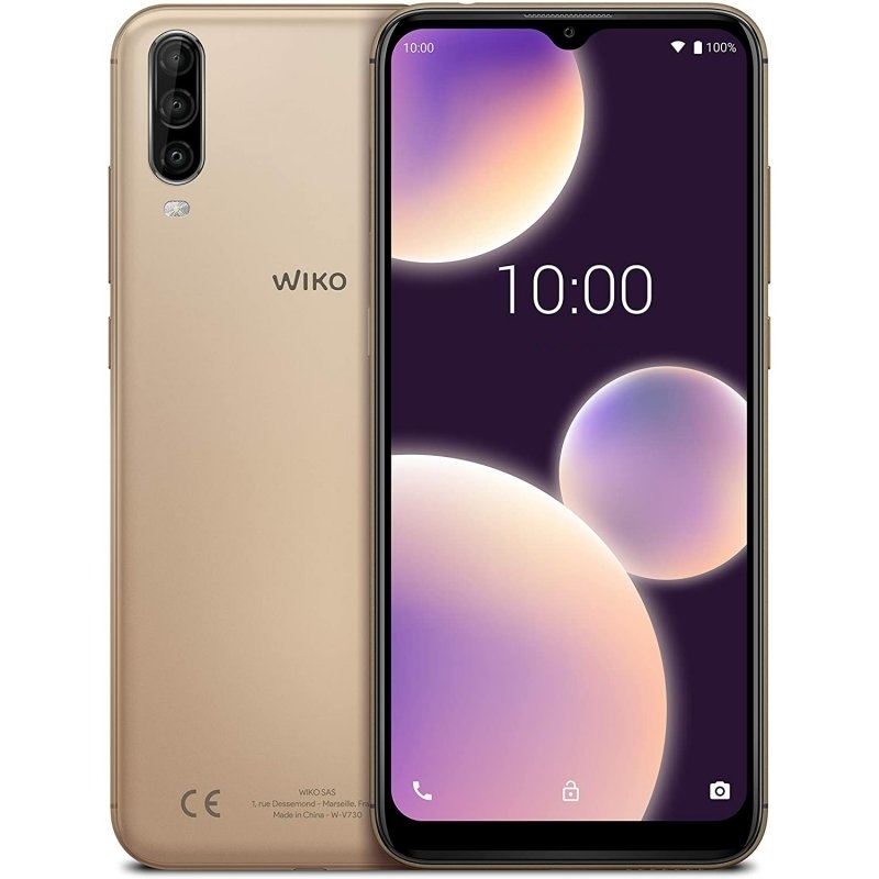 "Wiko VIEW4 Lite 6.52"" OC1.8Ghz 32GB 2GB Gold"