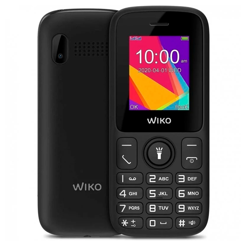 """Wiko F100 Telefono Movil 1.8"""" QVGA BT Negro"""