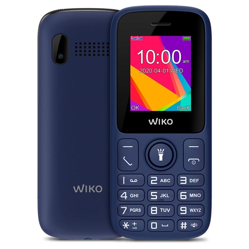 "Wiko F100 Telefono Movil 1.8"" QVGA BT Azul"
