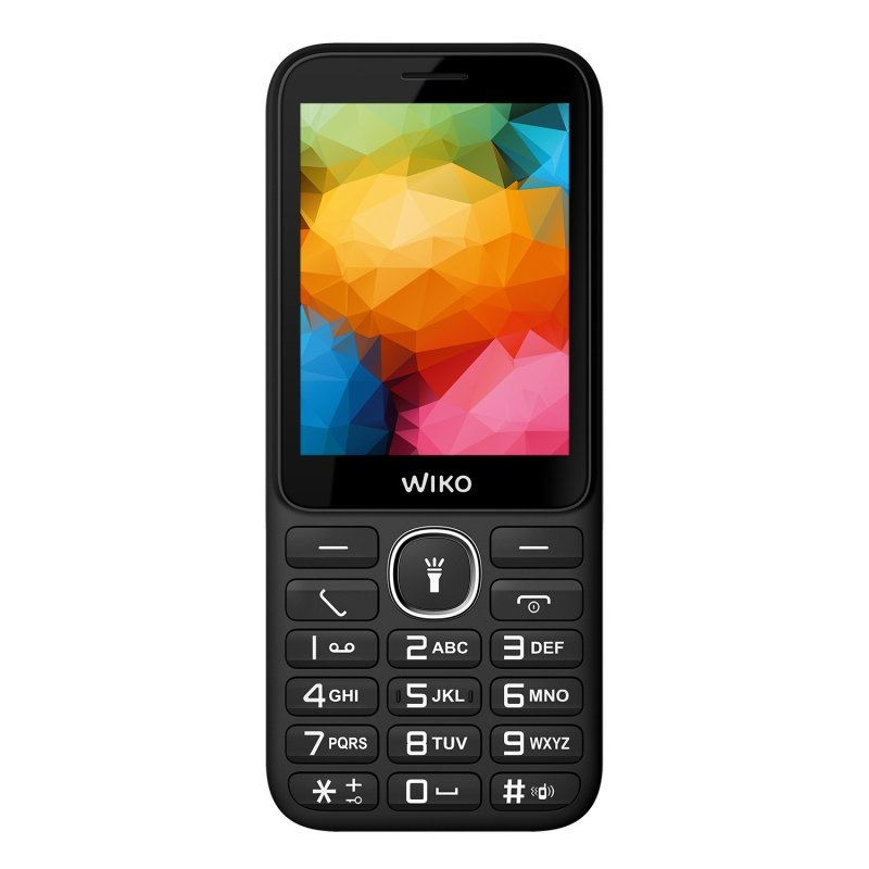 "Wiko F200 Telefono Movil 2.8"" BT Negro"