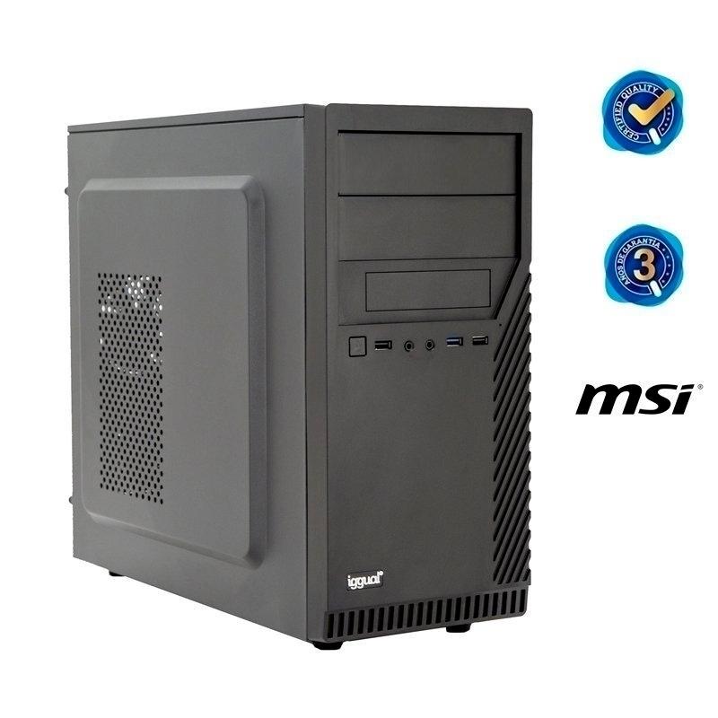 iggual PC ST PSIPCH402 i3-9100 8GB 120SSD sin SO