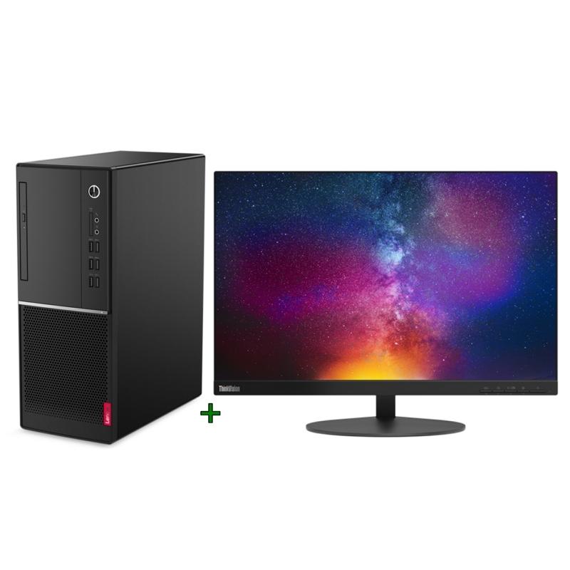 Lenovo PC V530 G4930 4GB 128GB DOS + monitor T23d