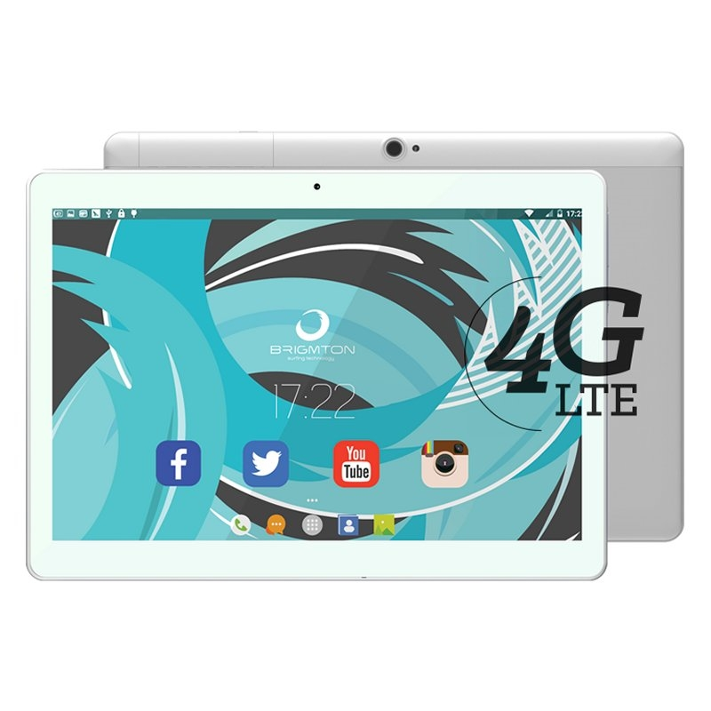 "Brigmton Tablets 10"" IPS HD 4G OCore 2GB RAM 32GB"