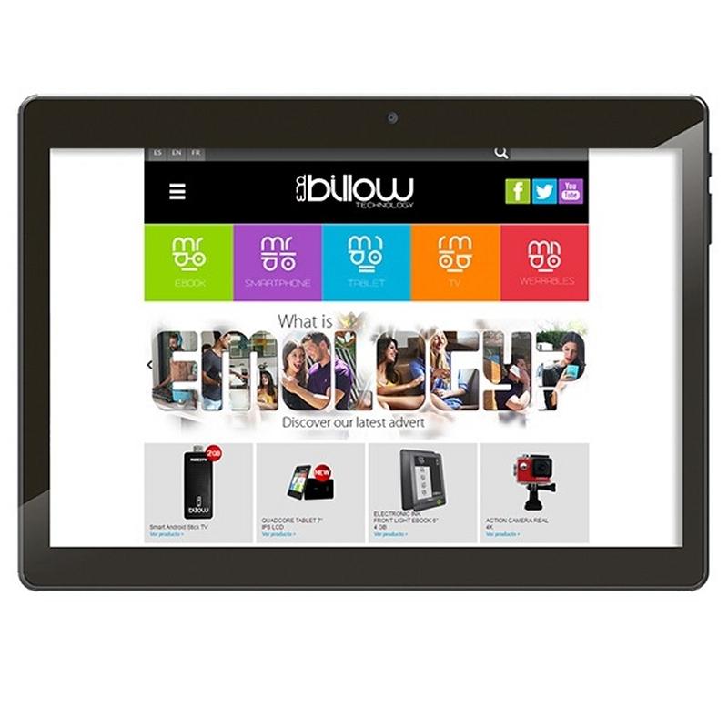 """Billow Tablet 10.1"""" X101PROB+ 32GB IPS DB Negra"""
