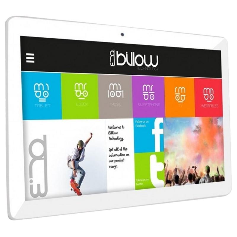 """Billow Tablet 10.1"""" X101PROS+ 32GB IPS DB Plata"""