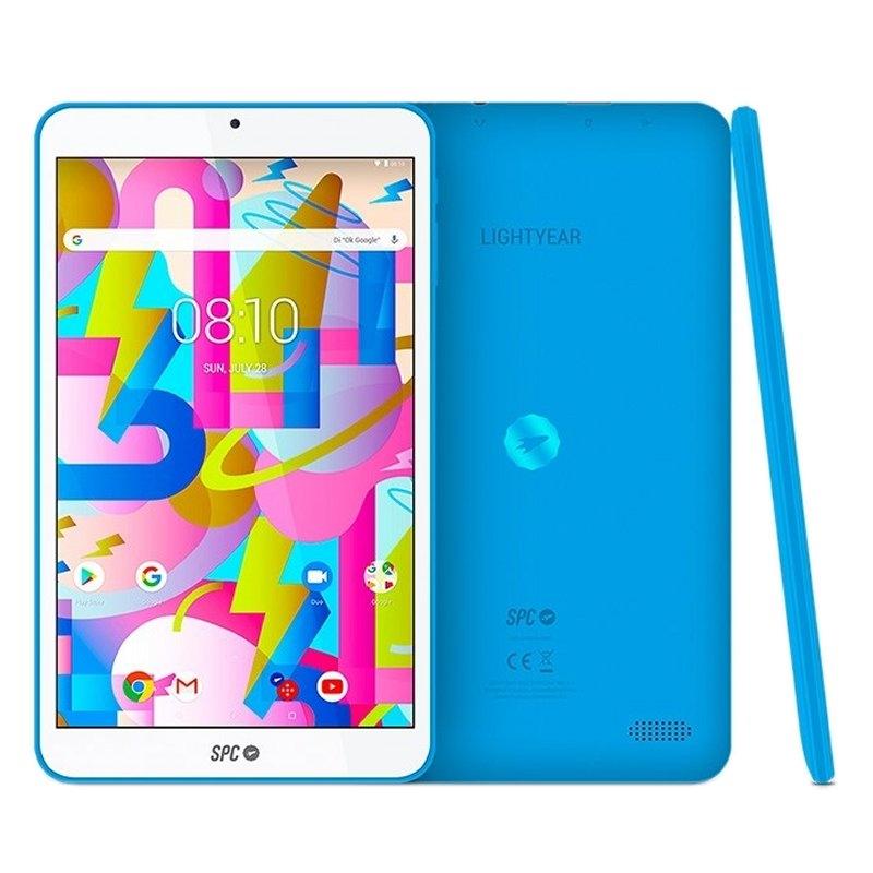 """SPC Tablet  8"""" IPS HD QC 2GB RAM 16GB Interna Azul"""