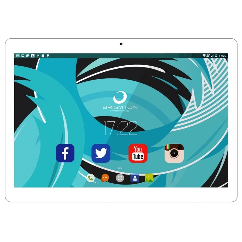 "Brigmton Tablets 10""IPS QCore 3G 1027 32GB Blanca"