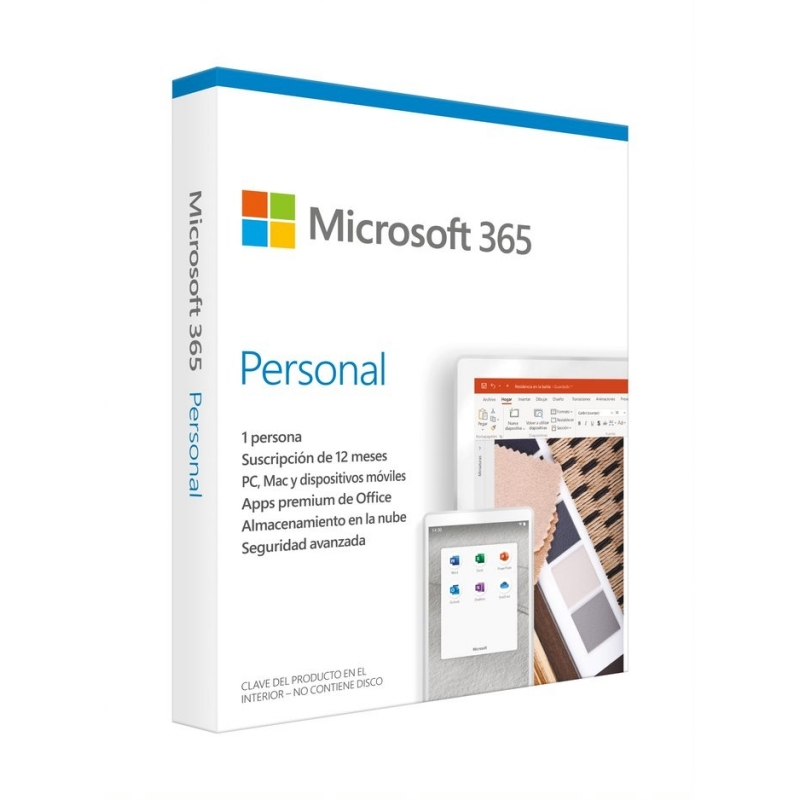 Microsoft 365 Personal Subscrip.anual (1u)