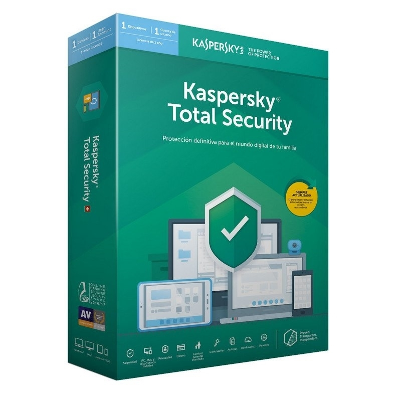 Kaspersky Total Security MD 2020 1L/1A