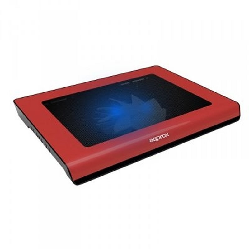 "approx APPNBC06R Refrigerador portatil 15.4"" Rojo"