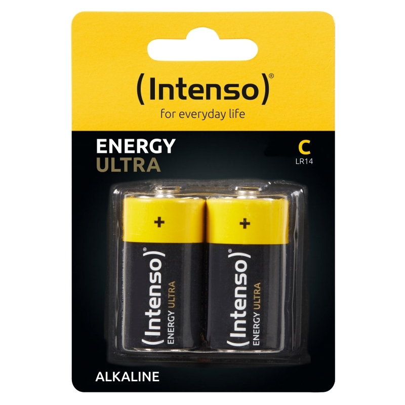 Intenso Energy Ultra Alcalina CLR14 Pack-2
