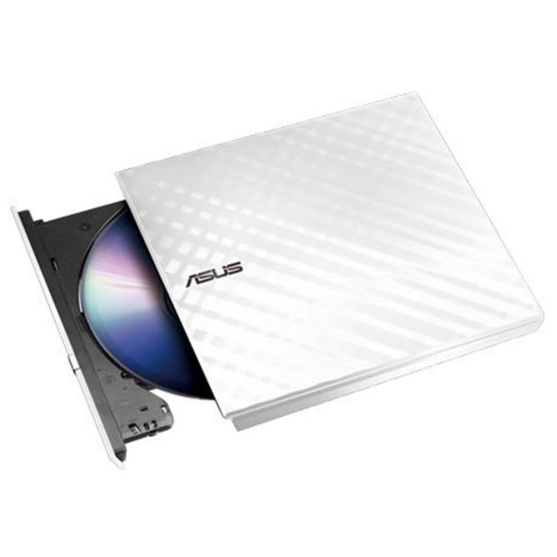 Asus DVD-RW SDRW-08D2S-U Slim Blanca USB 13mm