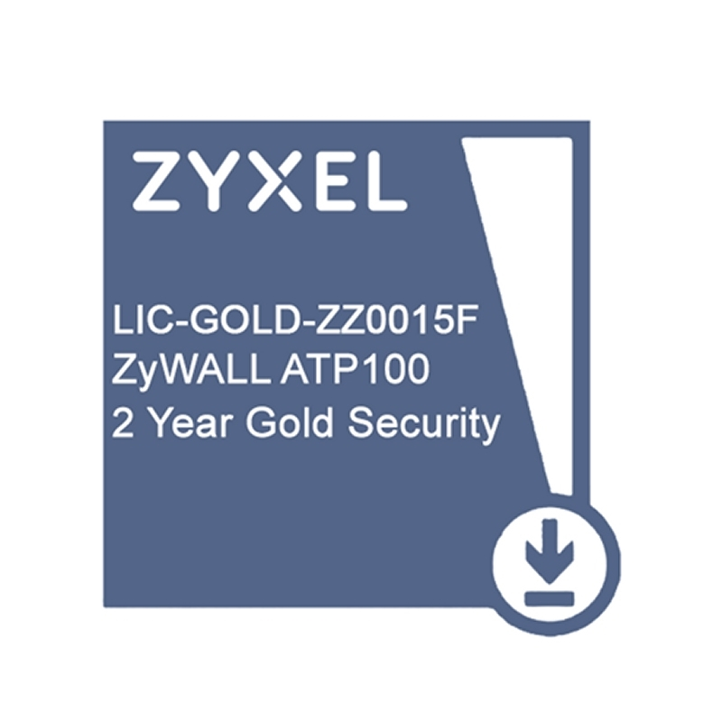 ZyXEL Licencia GOLD ATP100 Security Pack 2 Años