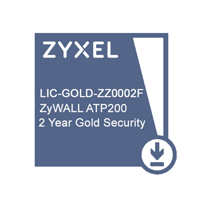 ZyXEL Licencia GOLD ATP200 Security Pack 2 Años