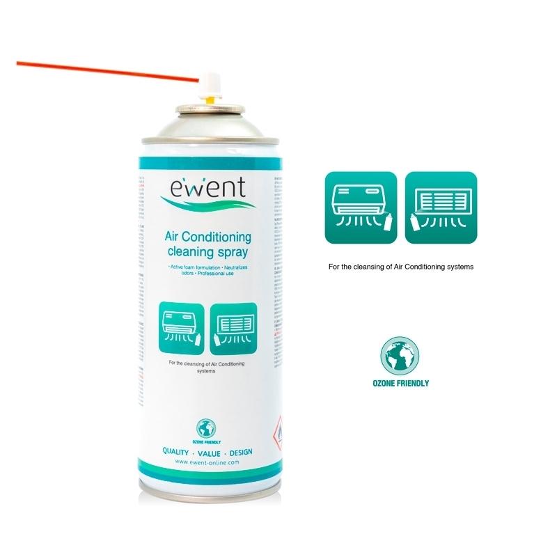 EWENT Spray de Limpieza Aire Acondicionado