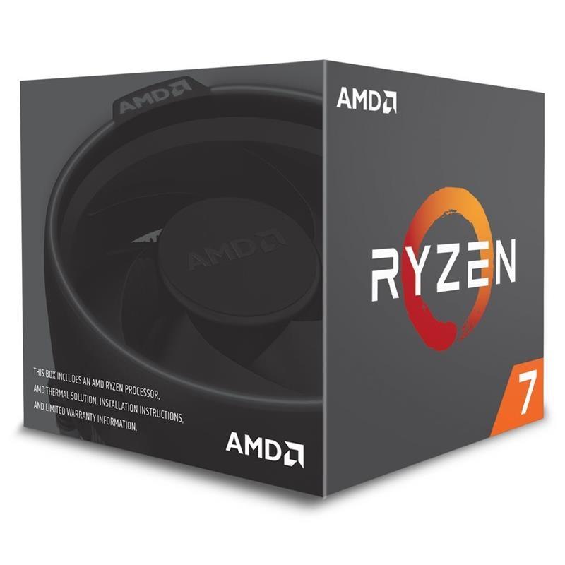AMD RYZEN 7 2700X 4.35GHz  20MB 8 CORE 105W AM4