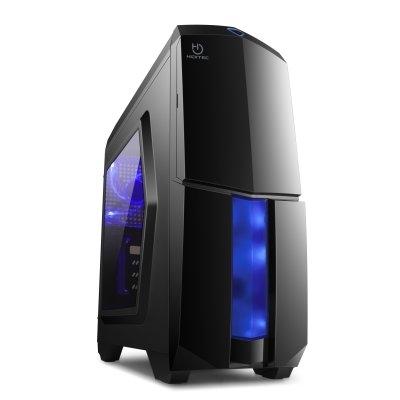 Hiditec Caja mATX NG-X1 Negra USB3.0+Lec.Tarj.