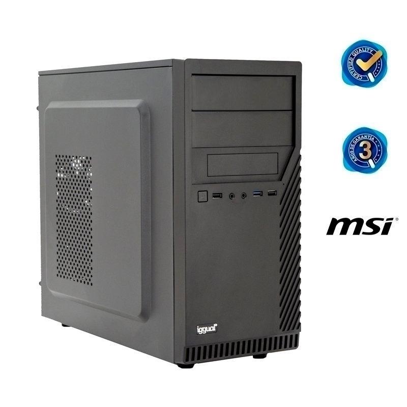 iggual PC ST PSIPCH501 i3-10100 8GB 120SSD sin SO
