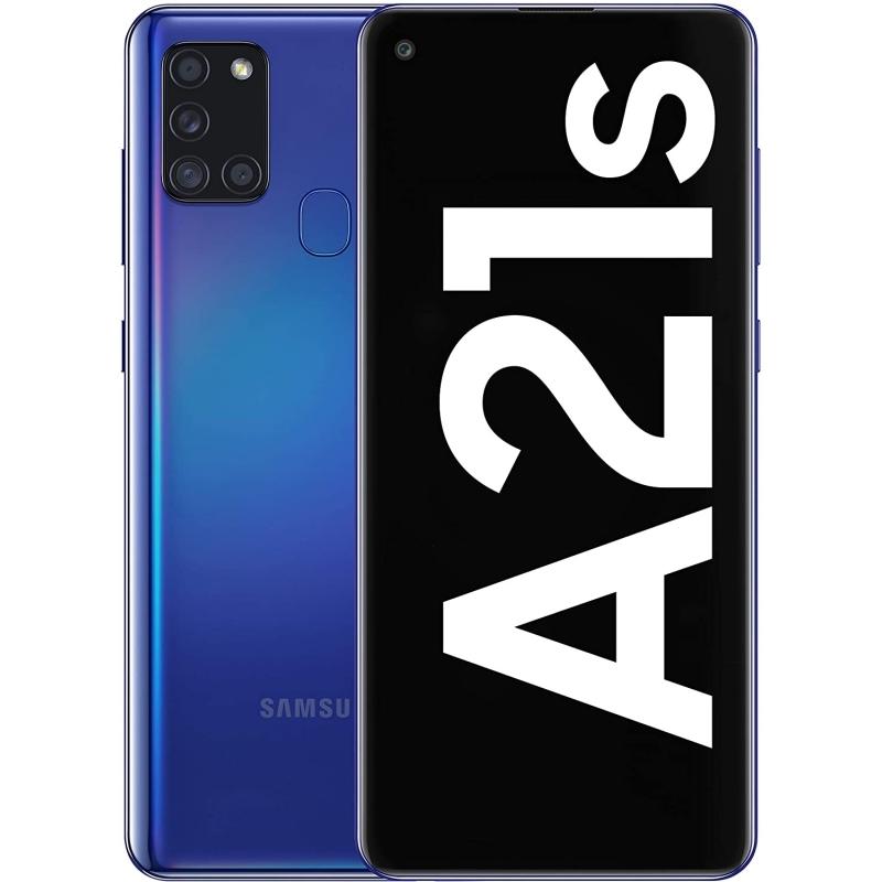"""Samsung Galaxy A21s SM-A217 6.5"""" 128GB 4GB Azul"""