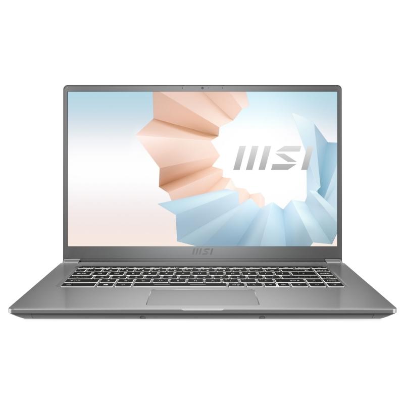"""MSI Modern 15-610XES i5-10210U 16GB 512 DOS 15"""" P"""