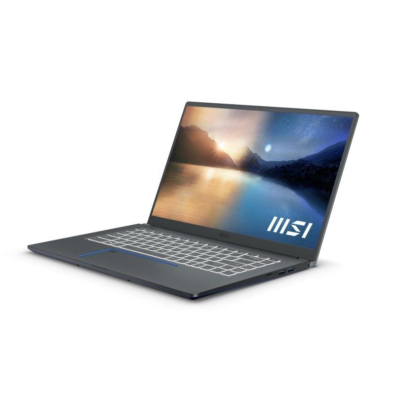 MSI Prestige 15-415ES i7-11ª 32 1TB 1650 MaxQ W10P