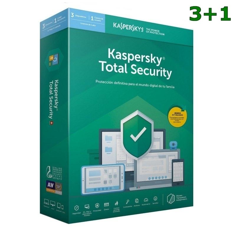 Kaspersky Total Security MD 2020 3L/1A 3+1