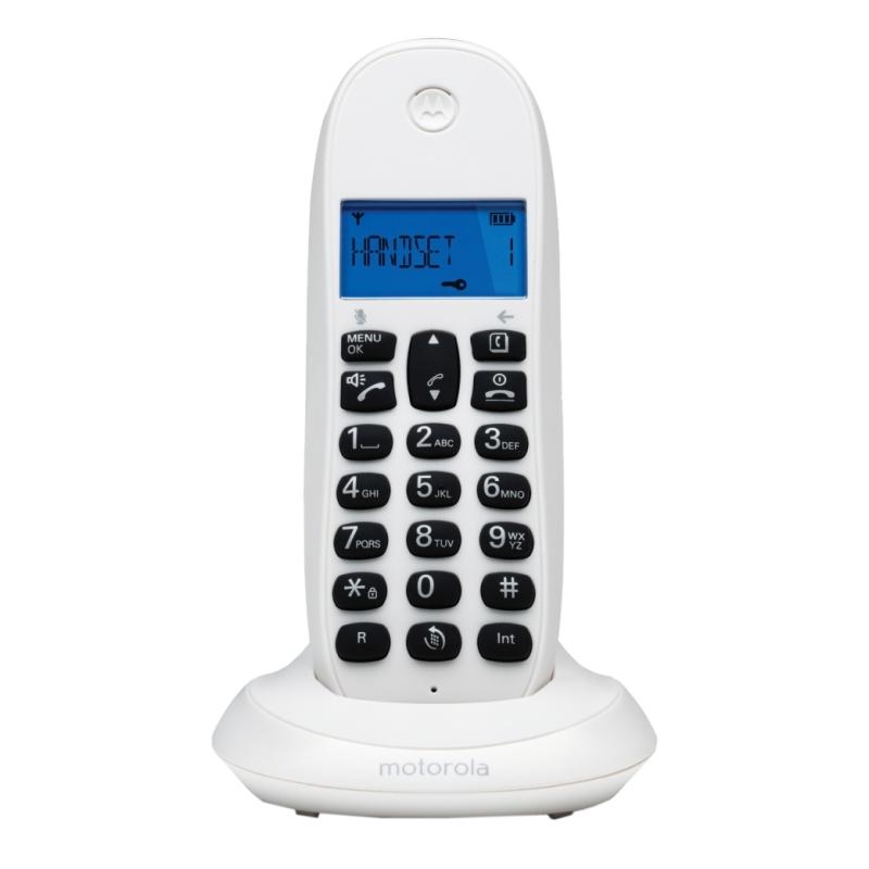 MOTOROLA C1001 LB+ Telefono DECT Blanco