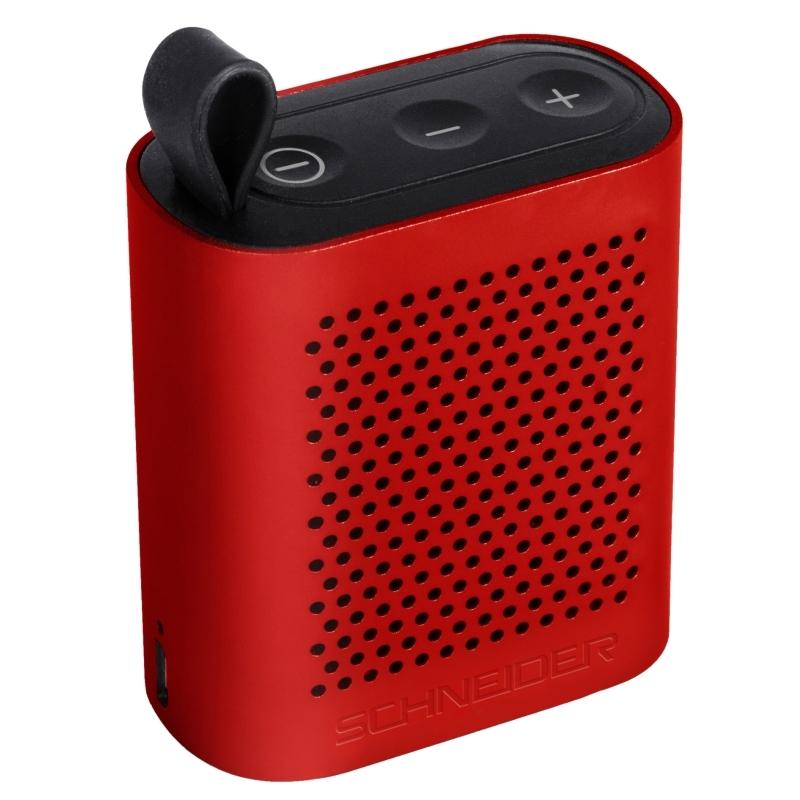 Schneider Altavoz bluetooth Groove Micro rojo