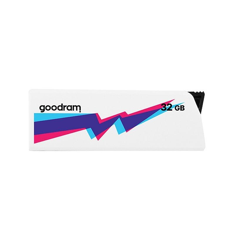 Goodram UCL2 USB 32GB Blanco Bulk Serigrafiable