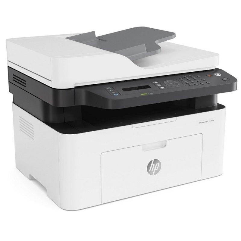 HP Multifunción Laser 137FNW WiFi/ Fax/ Blanca