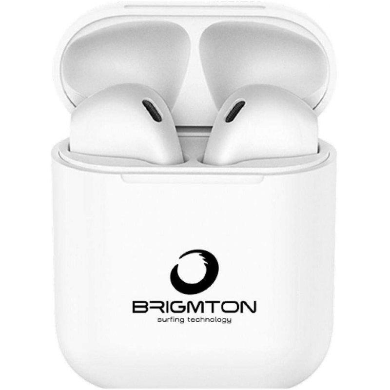 Brigmton Auricular+Micro BML-19 Base Carga Blanco