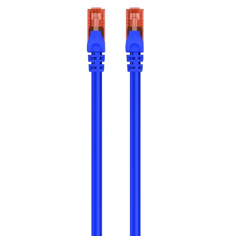 Ewent Latiguillo Categoría 6 U/UTP 1 M Azul