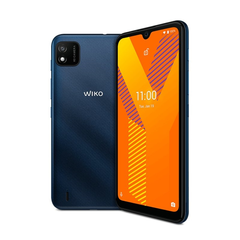 """Wiko Y62 6.1"""" HD+ QC 1.8GHz 16GB 1GB Blue"""