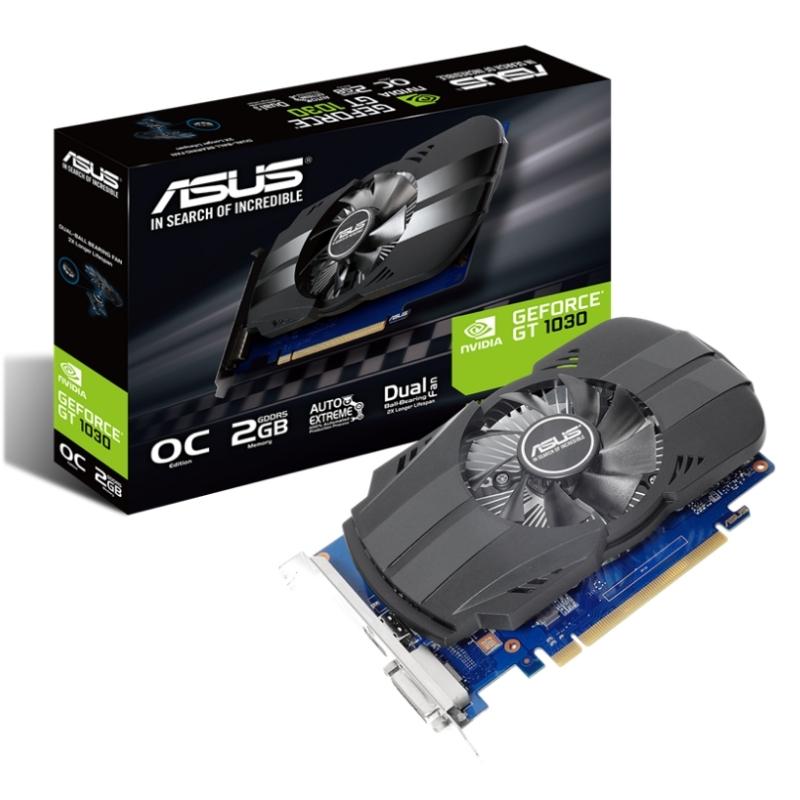 ASUS VGA NVIDIA PH-GT1030-O2G 2GB DDR5