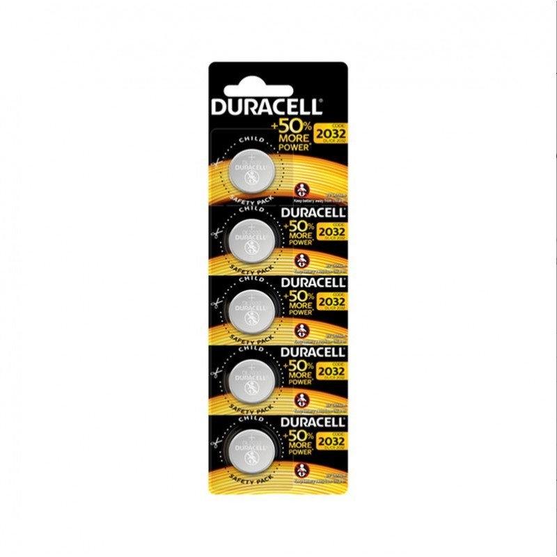 Duracell Pila Boton Litio CR2032 3V BLISTER*5