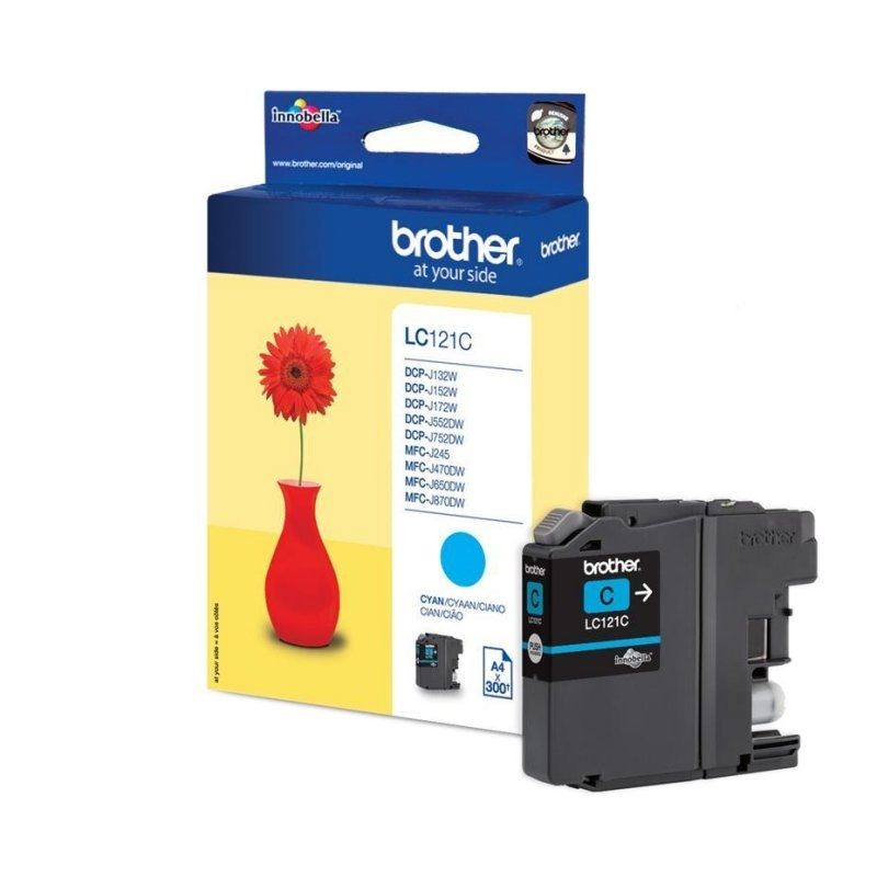 Brother Cartucho LC121CBP Cyan Blister