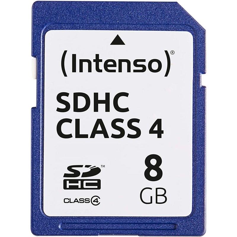 Intenso 3401460 Secure Digital 8GB clase 4