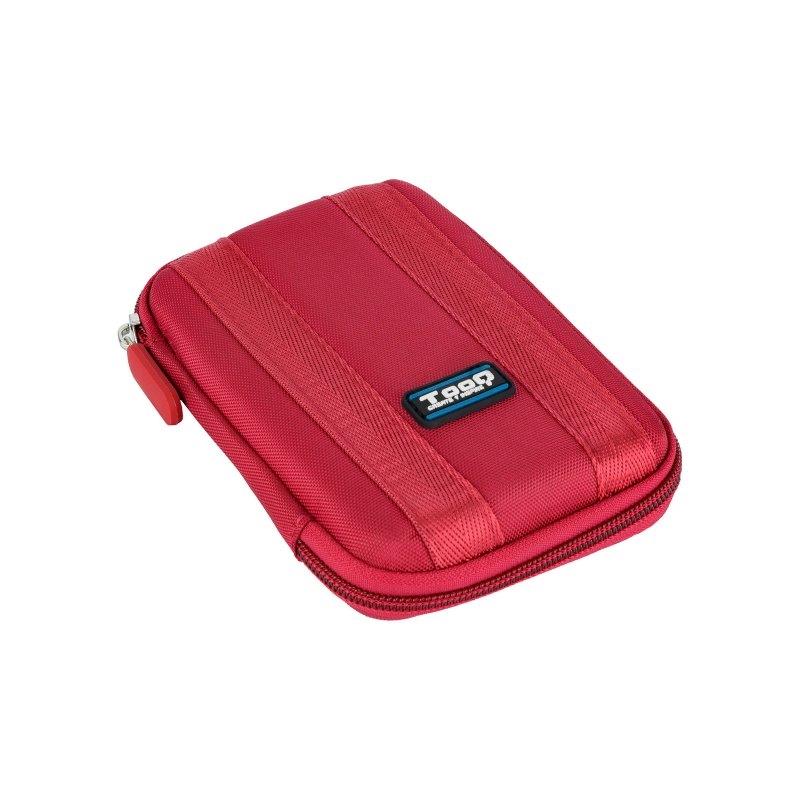 "Tooq Funda resistente disco duro  de 2,5"" Rojo"