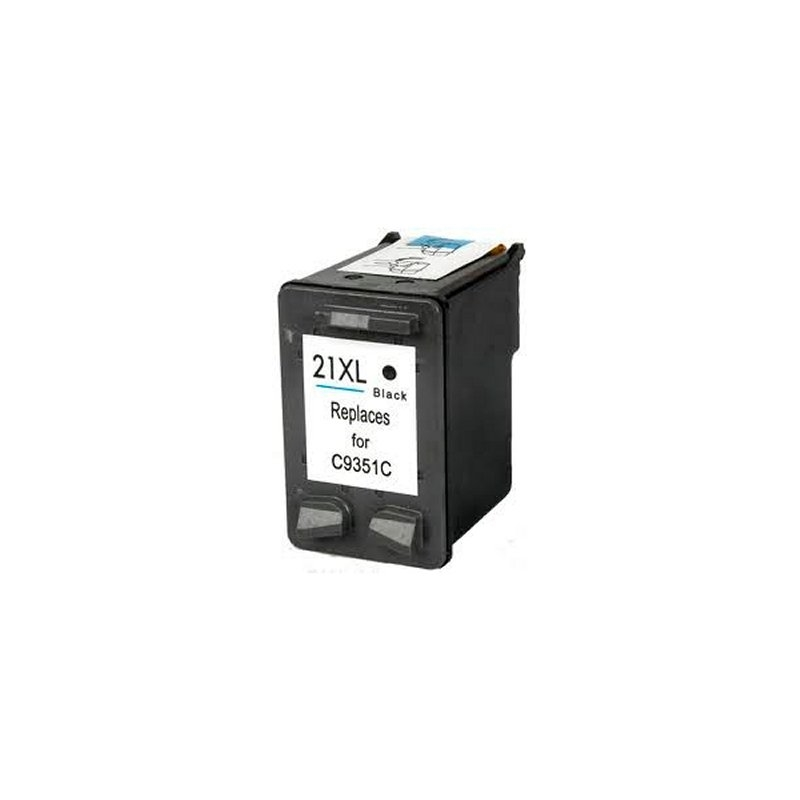 INKOEM Cartucho Reciclado HP N21XL Negro