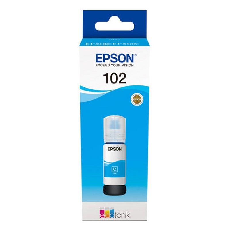 Epson Cartucho Kit Relleno 102 Cyan 70ml