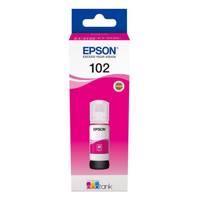 Epson Botella Tinta Ecotank 102 Magenta 70ml
