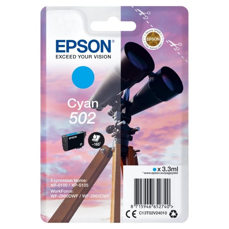 Epson Cartucho 502 Cyan