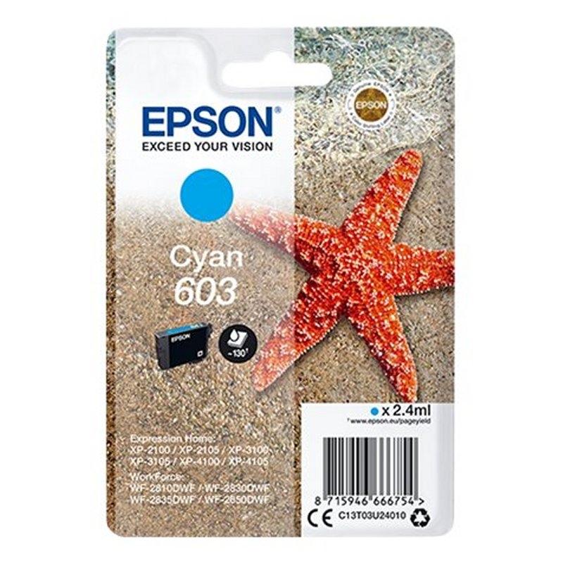 Epson Cartucho 603 Cyan