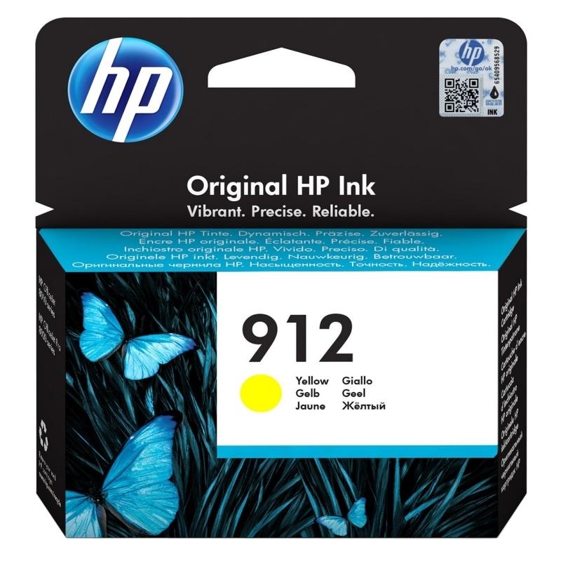 HP Cartucho 912 Amarillo