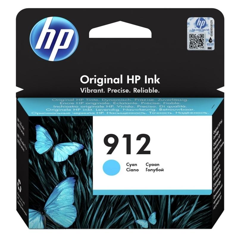 HP Cartucho 912 Cyan